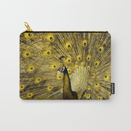 yellow art Carry-All Pouch