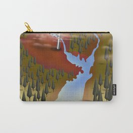 Chornoby, Pripyat, ukraine Map Carry-All Pouch