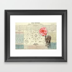 The tenacity of love Framed Art Print