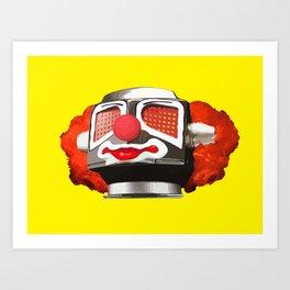 Clownbot Art Print