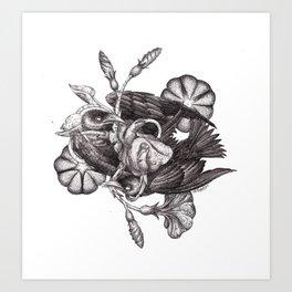 Some Birds... Art Print