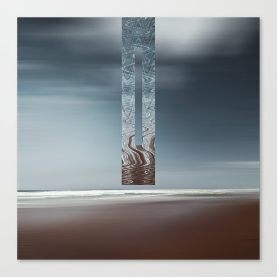 Minimal SeaScape Canvas Print
