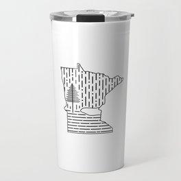 Snow MN (white) Travel Mug