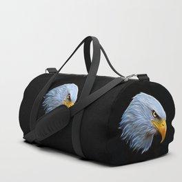 Fractal Bald Eagle Duffle Bag