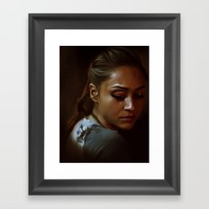 Raven, The 100 Framed Art Print