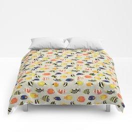 Tropical Reef Fish Comforters