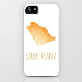 Saudi Arabia iPhone Case