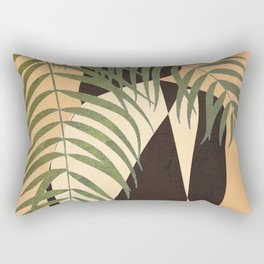Resting in a Shade Rectangular Pillow