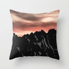 Cascade Morning Throw Pillow