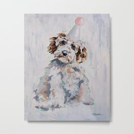 Flossie the Dog Metal Print