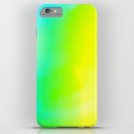 Lime Radiance iPhone Case