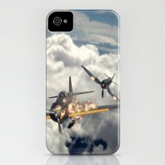 Watch your six! iPhone (4, 4s) Slim Case