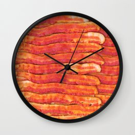 Jasper's Breakfast Wall Clock