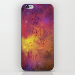 Nebula (Text) iPhone Skin