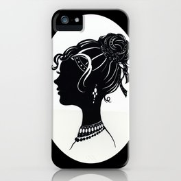 Old Fashioned Vanity iPhone Case