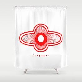 Healing Symbol Shower Curtain
