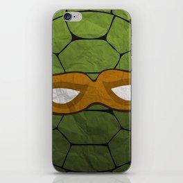The Orange Turtle iPhone Skin