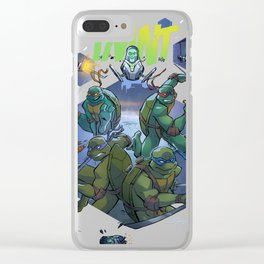 TMNT vs. Robots Clear iPhone Case