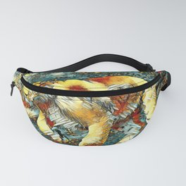 AnimalArt_Lion_20171010_by_JAMColors Fanny Pack