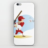 baseball iPhone & iPod Skins featuring Baseball! by Dues Creatius