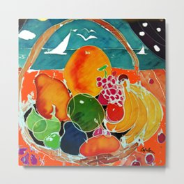 Fruit Bounty Australia           by Kay Lipton Metal Print