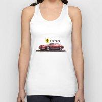 ferrari Tank Tops featuring Ferrari 275  by kartalpaf