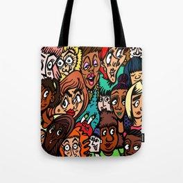 Faces of Women 2K15 Tote Bag