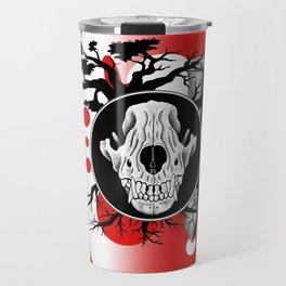 Amos Fortune Trash Polka Travel Mug