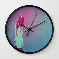 Skinny Dipping Wall Clock