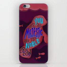 Noble Sea Cow  iPhone Skin