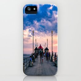 September Dawn - HB Pier iPhone Case