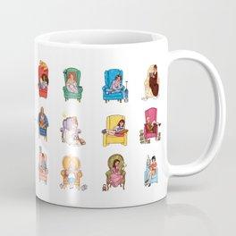 Reading fictional characters Coffee Mug