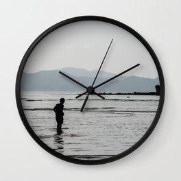 Water walk Wall Clock