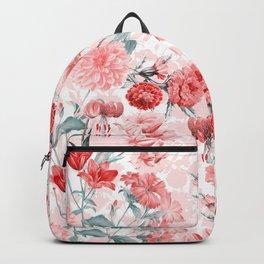 Vintage & Shabby Chic - Rose Blush Garden Flowers Backpack
