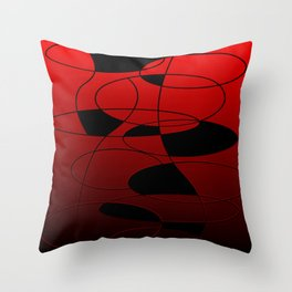 Abstract #52 Throw Pillow