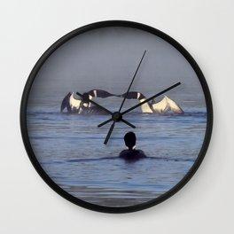 loom duel Wall Clock