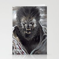 werewolf Stationery Cards featuring Werewolf by Jeff B. Harris
