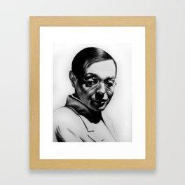 P. Lorre Framed Art Print