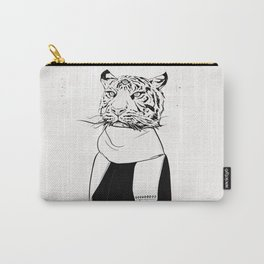 Tigress with scarf Carry-All Pouch