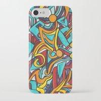 jazz iPhone & iPod Cases featuring Jazz by Jon McTavish