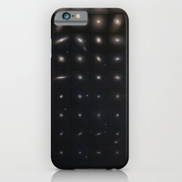 Hubble Space Telescope - Virgo cluster galaxies and their globular star clusters iPhone Case
