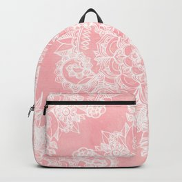 Marshmallow Lace Backpack
