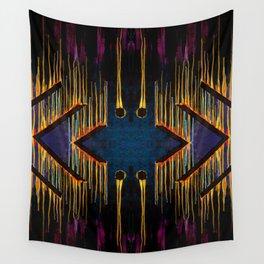 Chaos Consumes Civilization Wall Tapestry