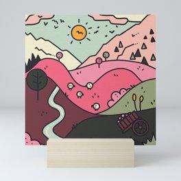Sunny Hills Mini Art Print