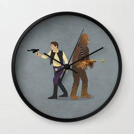 Han & Chewie Wall Clock