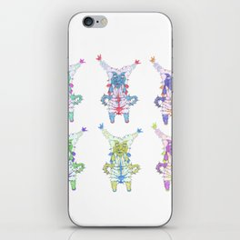 Dream creature grid iPhone Skin