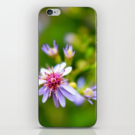 Purple Space Ship iPhone Skin