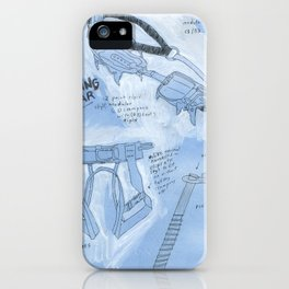Ice Climbing 101 iPhone Case