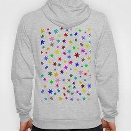 Colorful stars Hoody