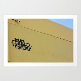Pancho Pix Art Print